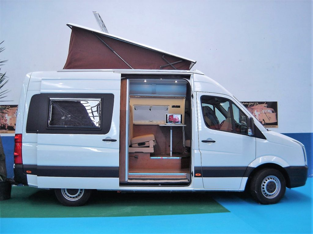 VW CRAFTER TECHO ELEVABLE CAMPEROAD